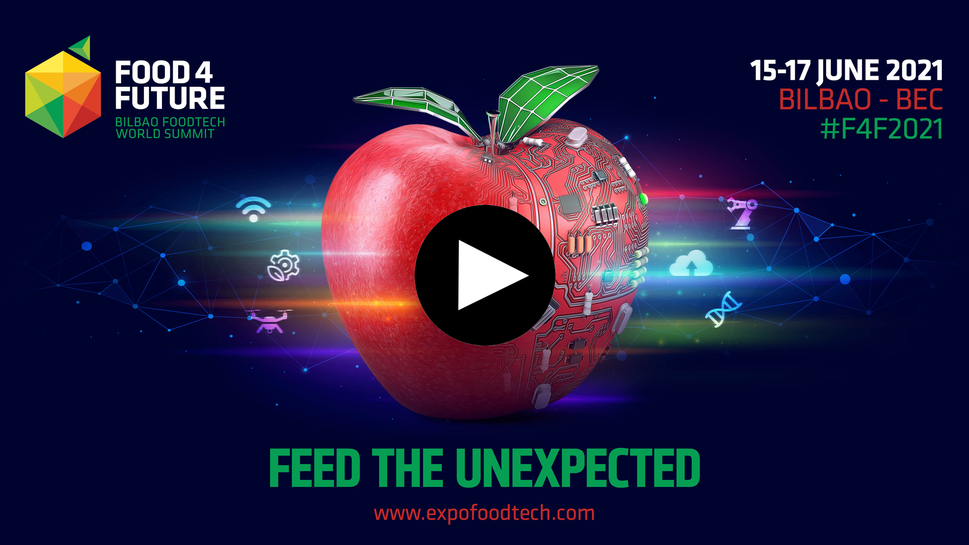 Discover what Food 4 Future ExpoFoodTech will offer us