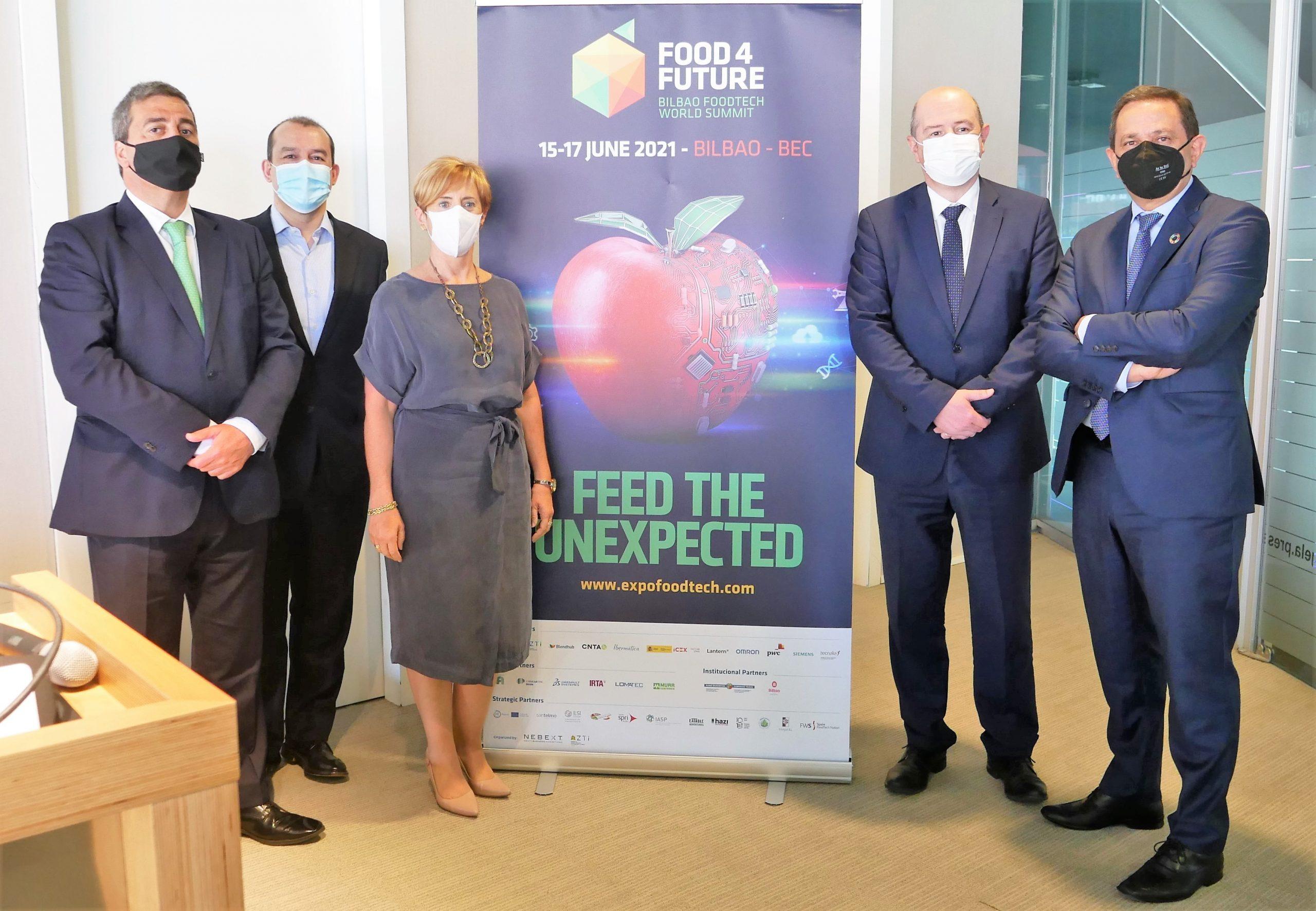 Food 4 Future reunirá a 5.000 congresistas del 15 al 17 de junio en Bilbao
