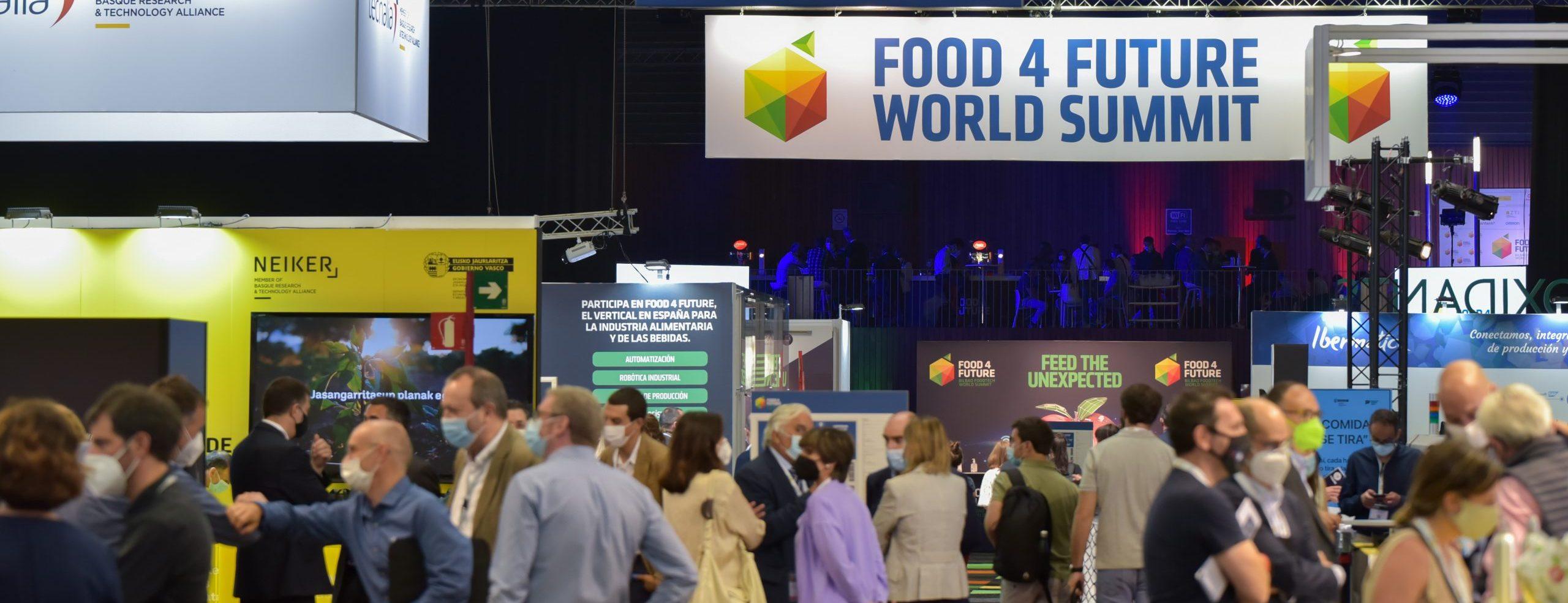 Food 4 Future clausura con 5.417 visitantes y sienta las bases del futuro de la industria alimentaria