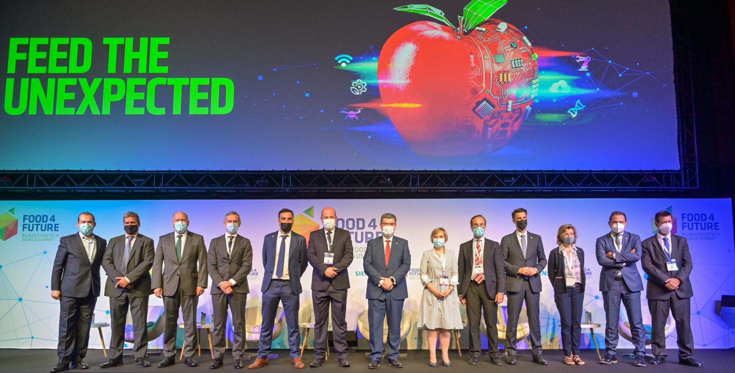 El alcalde de Bilbao y Gobierno Vasco presiden la ceremonia inaugural de Food 4 Future en Bilbao