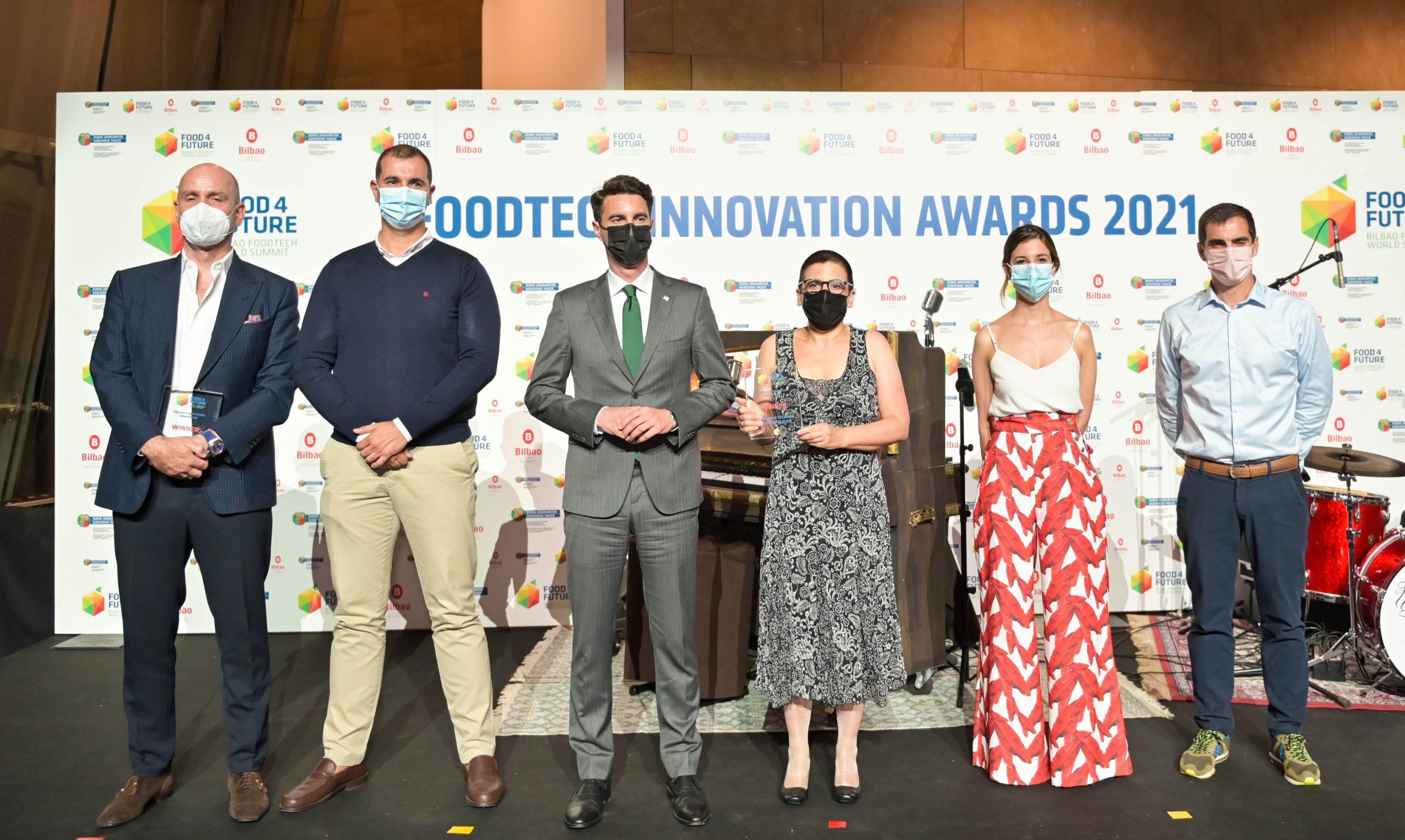 Grasa sólida de aceite de oliva, nano-cápsulas de proteínas e Inteligencia Artificial aplicada a la industria: las innovaciones premiadas en los FoodTech Innovation Awards 2021